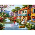 Puzzle  Perre-Anatolian-1053 Quaint Village Shops