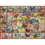Puzzle  Perre-Anatolian-1094 Lots Of Butterflies