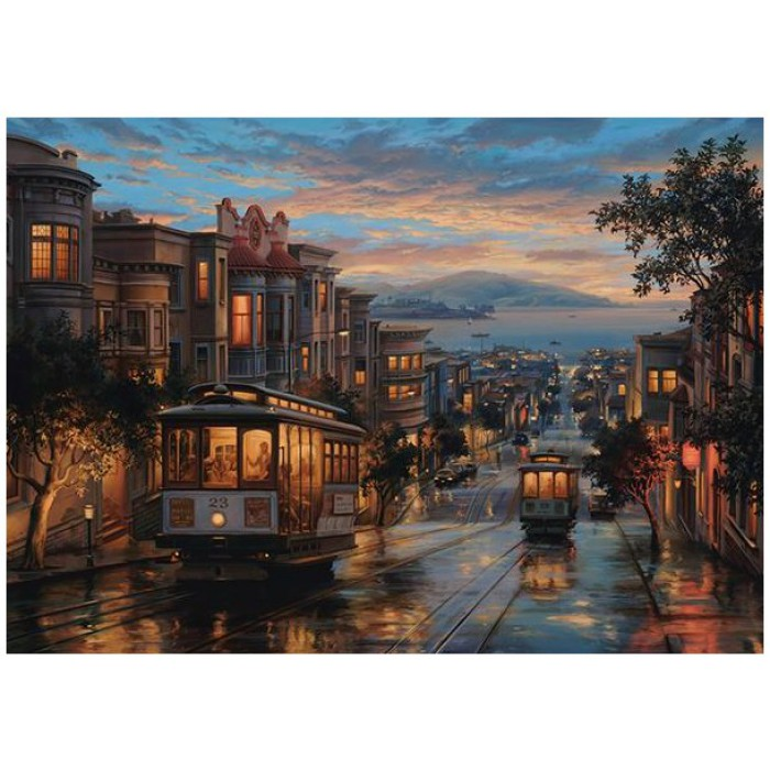 Evgeny Lushpin: San Francisco Cable Cars