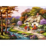 Puzzle   Spring Cottage