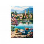 Puzzle   Village Lake Afternoon