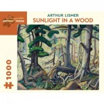 Puzzle   Arthur Lismer - Sunlight in a Wood, 1930