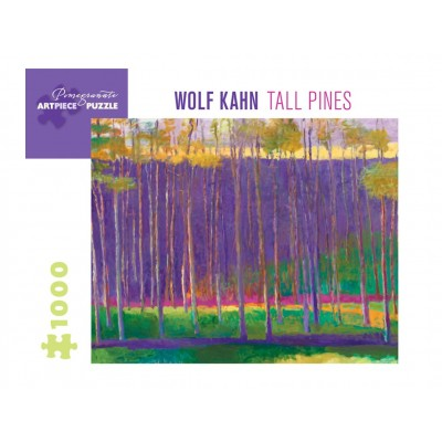 Puzzle Pomegranate-AA1037 Wolf Kahn - Tall Pines, 1999