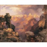 Puzzle  Pomegranate-AA312 Thomas Moran: Grand Canyon with Rainbow