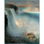 Puzzle  Pomegranate-AA552 Frederic Edwin Church: Niagara
