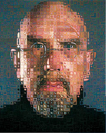 Puzzle Pomegranate-AA673 Chuck Close