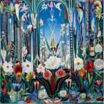 Puzzle  Pomegranate-AA809 Joseph Stella: Flowers, Italy