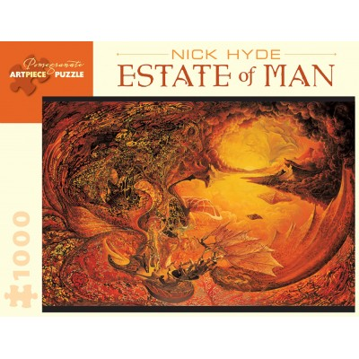 Puzzle Pomegranate-AA841 Nick Hyde - Estate of Man