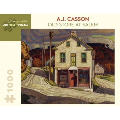 Puzzle Pomegranate-AA848 A.J. Casson - Old Store at Salem, 1931