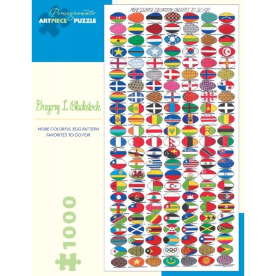 Puzzle Pomegranate-AA888 Gregory L. Blackstock - More Colorful Egg Pattern Favorites to Go For, 2005