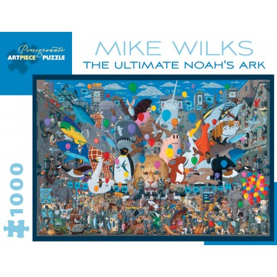 Puzzle Pomegranate-AA895 Mike Wilks - The Ultimate Noah's Ark, 1990–1992