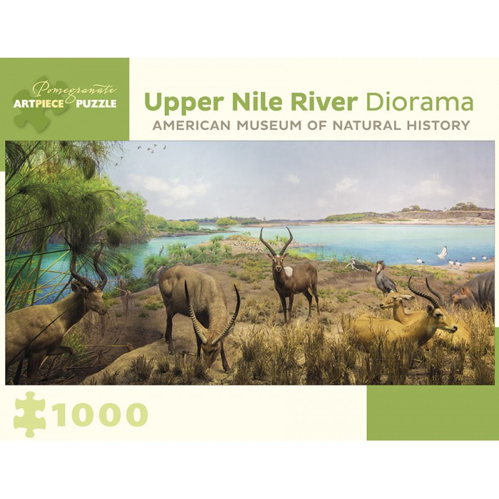 Upper Nile River Diorama - 150 Miles Southwest of Lake No, South Sudan