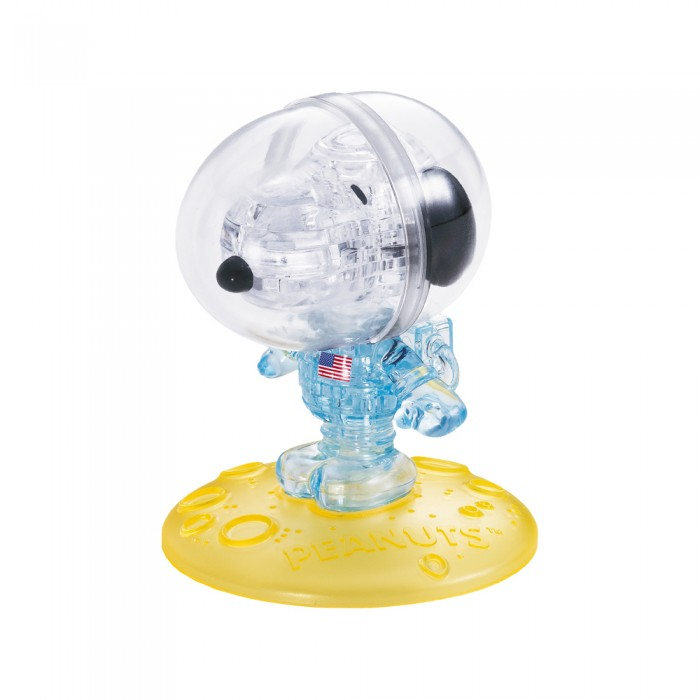 3D Crystal Puzzle - Snoopy Astronaut