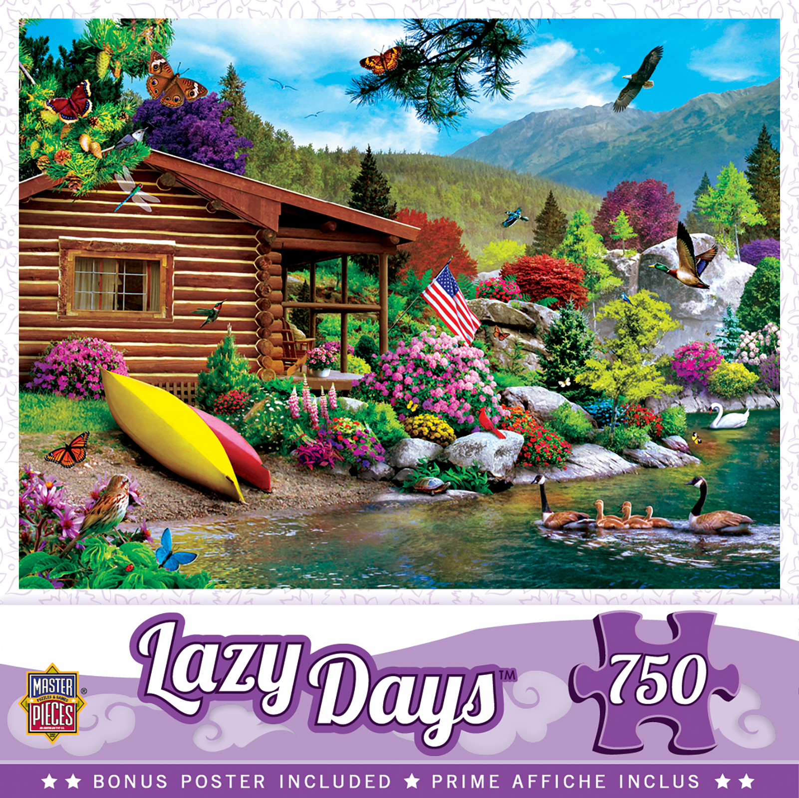 Puzzle Lazy Days   Free to Fly