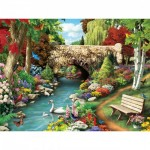 Puzzle  Master-Pieces-31401 XXL Teile - Willow Whispers