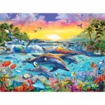 Puzzle  Master-Pieces-31609 XXL Teile - Sea of Eden