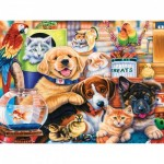 Puzzle  Master-Pieces-31650 XXL Teile - Home Wanted