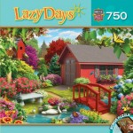 Puzzle  Master-Pieces-31693 Alan Giana - Lazy Days - Over the Bridge