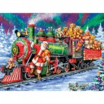 Puzzle  Master-Pieces-31913 XXL Teile - North Pole Delivery
