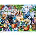 Puzzle  Master-Pieces-32110 XXL Teile - Washing Time