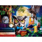 Puzzle  Master-Pieces-32151 XXL Teile - Night Owl Study Group