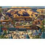 Puzzle  Master-Pieces-45118 Grand Canyon