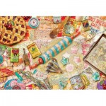 Puzzle  Master-Pieces-71669 XXL Teile - Aimee Stewart - Pastry Party