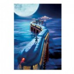 Puzzle  Master-Pieces-71680 Book Box - The Polar Express
