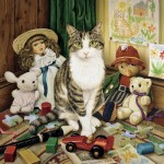 Puzzle  Master-Pieces-71762 Cat-Ology - Pollyanna