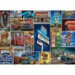 Puzzle  Master-Pieces-71772 Route 66