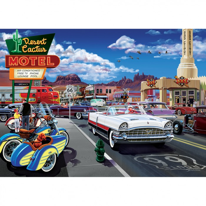Drive Through on Route 66