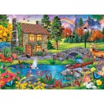 Puzzle  Master-Pieces-71984 Stoney Brook Retreat
