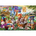 Puzzle  Master-Pieces-72043 XXL Teile - Laundry Day Rascals
