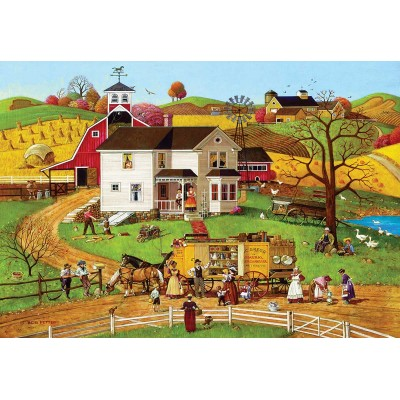 Puzzle Master-Pieces-72044 XXL Teile - The Travelling Man