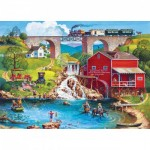 Puzzle   XXL Teile - Labor Day 1909