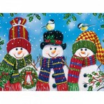 Puzzle   XXL Teile - Snowy Afternoon Friends
