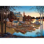 Puzzle  Cobble-Hill-51713 USA - William A S Kreutz: Edgewood Resort