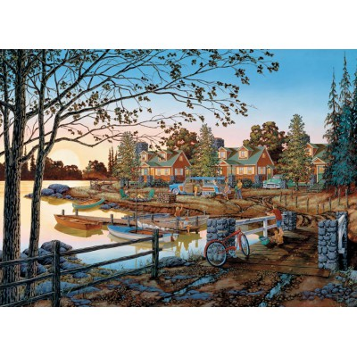 Puzzle Cobble-Hill-51739 William Kreutz: Fernab