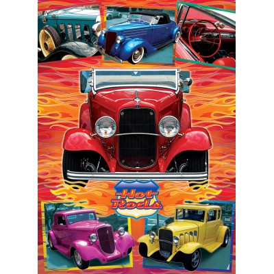 Puzzle Cobble-Hill-51750 Lorne Miller: Hot Rods