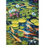 Puzzle  Cobble-Hill-51782 Koi Pond