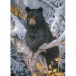 Puzzle  Cobble-Hill-51802 Jerry Gadmus - Black Bear