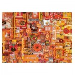 Puzzle  Cobble-Hill-51862-80147 Shelley Davies: Orange