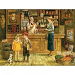 Puzzle  Cobble-Hill-52057 XXL Teile - Lee Dubin: The Grocery Store