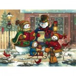 Puzzle  Cobble-Hill-52082 XXL Teile - Janet Stever: Weihnachtslied