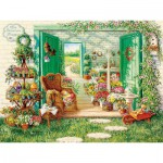 Puzzle  Cobble-Hill-52088 XXL Teile - The Blossom Shoppe