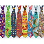 Puzzle  Cobble-Hill-52097 XXL Teile - Father's Day Ties