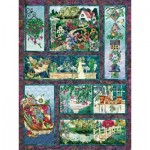 Puzzle  Cobble-Hill-52111 XXL Teile - McKenna Ryan - In Full Bloom