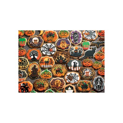Puzzle Cobble-Hill-54612 XXL Teile - Halloween Cookies