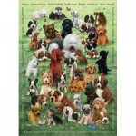 Puzzle  Cobble-Hill-54623 XXL Teile - Puppy Love