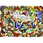 Puzzle  Cobble-Hill-57150 Schmetterlinge